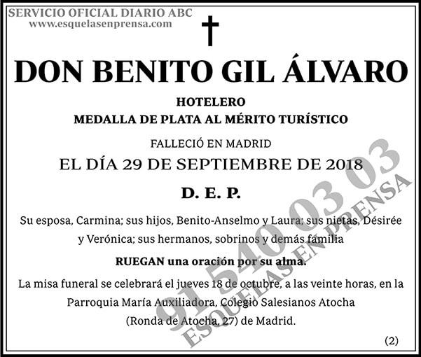 Benito Gil Álvaro